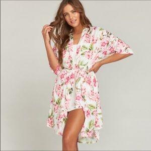 {Show me your Mumu} floral robe
